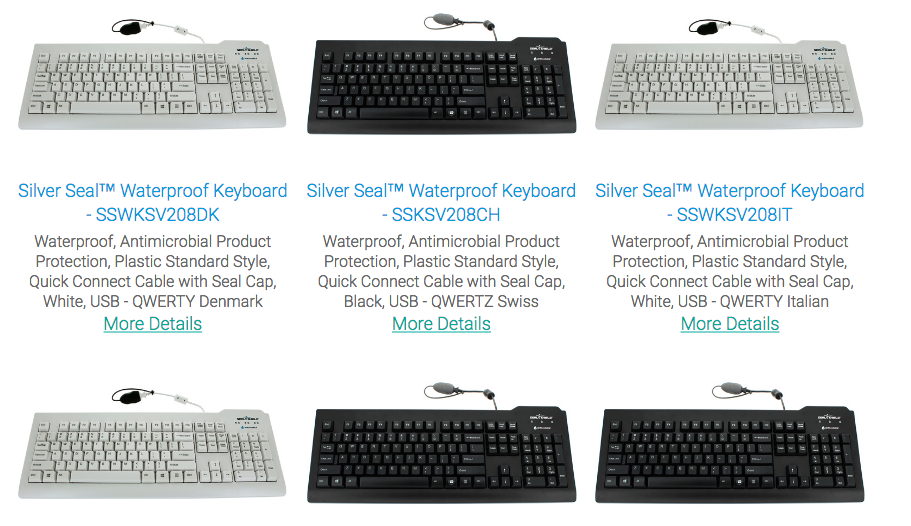 Medical Keyboards In USA