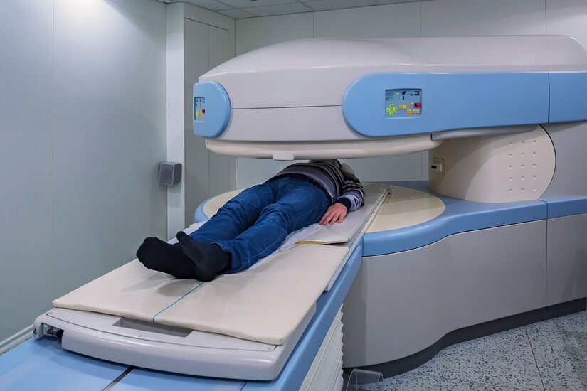 A Solution for Patients' Claustrophobic Fears by New MRI Machines