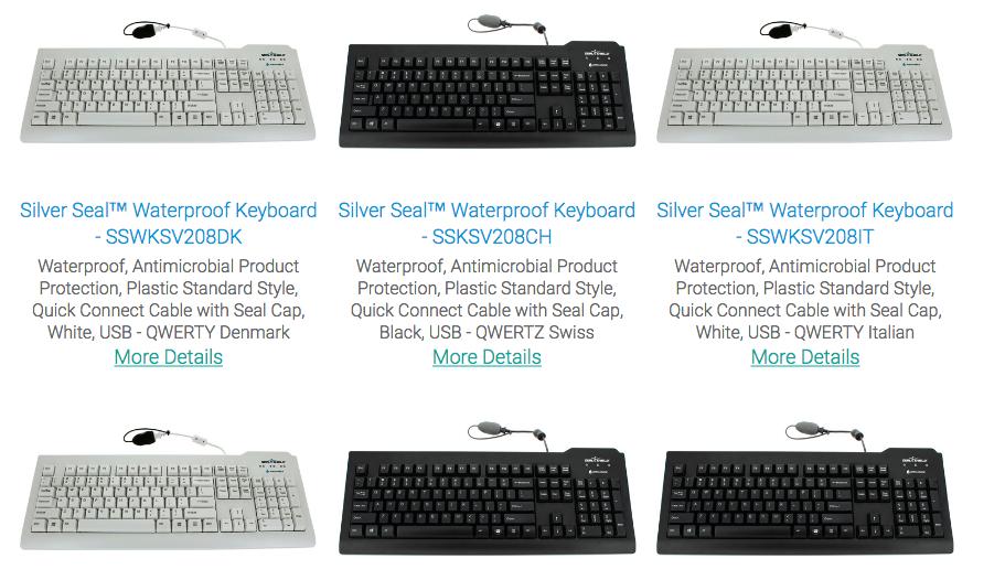 Medical Keyboards In USA